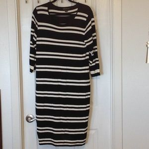 NWOT Forever 21 stripe sweater dress